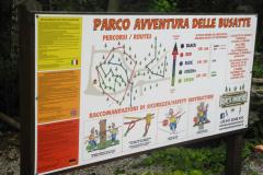 Busatte Adventure Park Itálie