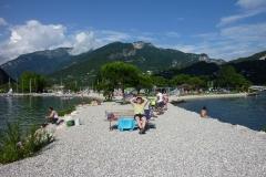 Lago di Garda pláž