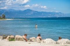 pláž Garda