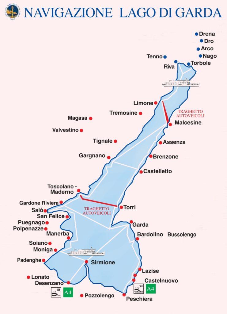 Přívozy lago di Garda